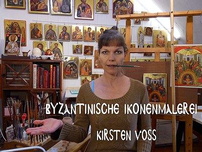 handgemalte Ikonen aus Hamburg von Kirsten Voß